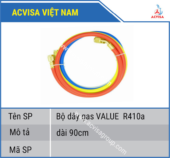 Bộ dây gas VALUE R410a